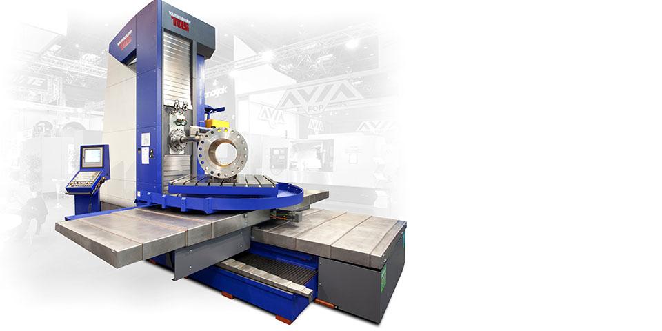 Innovatie is het sleutelwoord in alles wat de machinebouwer doet. Getuige daarvan is ook deze frees- en boormachine WHQ150.