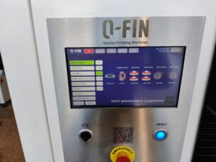 Q-Fin HMI scherm met programma